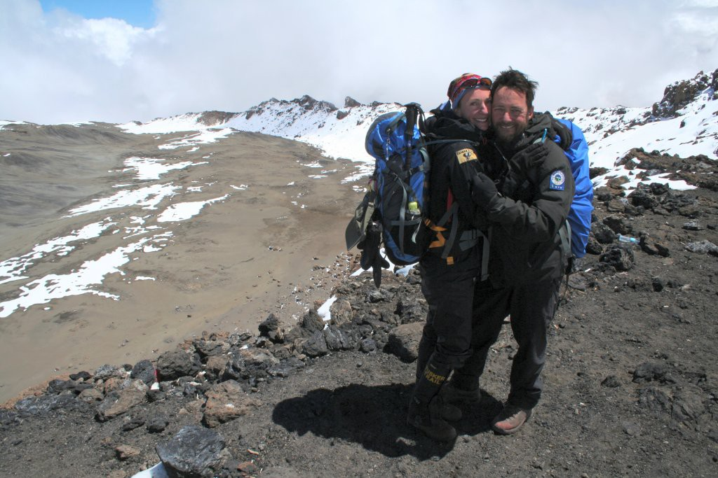 Eddie and Amy Frank - The Kilimanjaro Couple