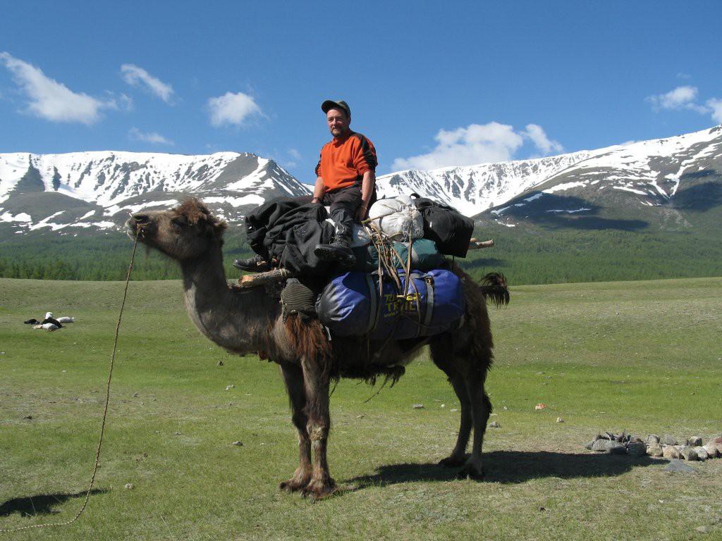 Eddie Frank in Mongolia