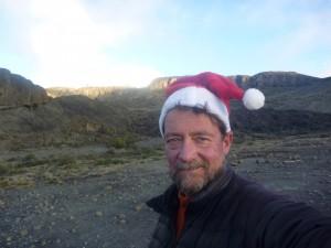 Eddie leads Christmas Kili climb