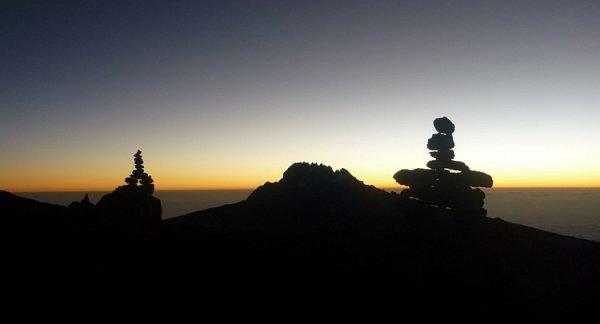 Nuk Chuk on Kilimanjaro