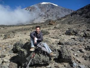 Eddie Frank on Kilimanjaro