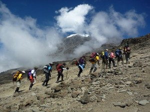 Eddie Frank's 50th Kilimanjaro Climb