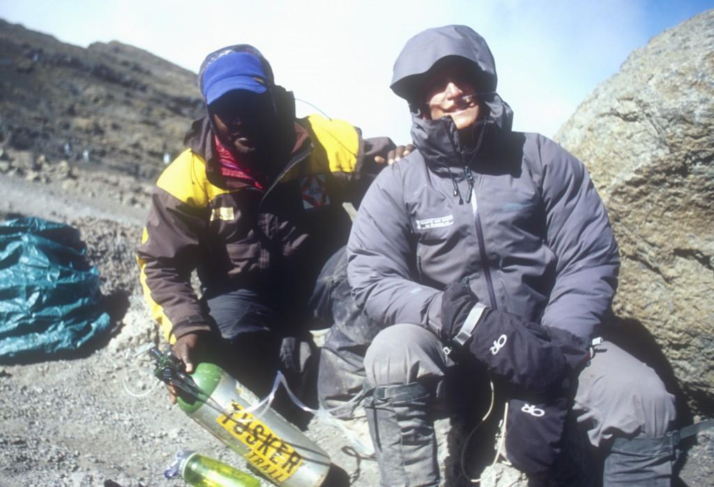 climber oxygen