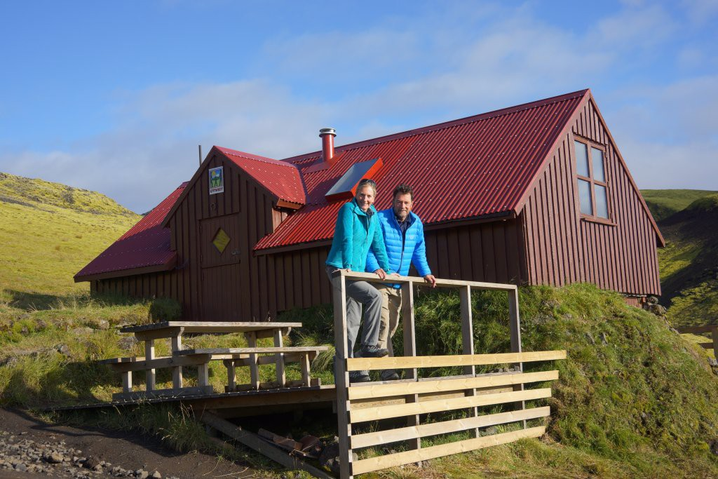 Eddie and Amy in Iceland