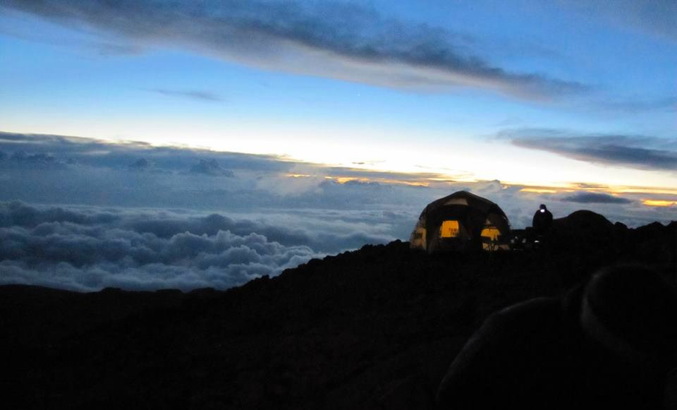 Kilimanjaro at Night