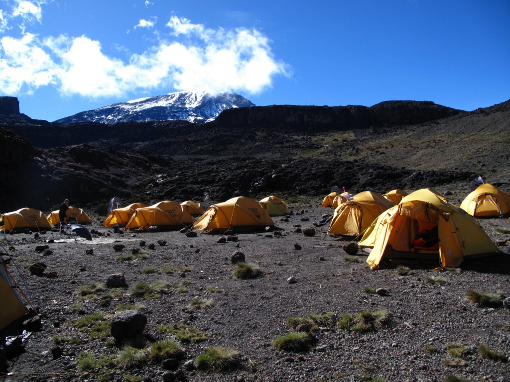 Moir Camp on Kilimanjaro