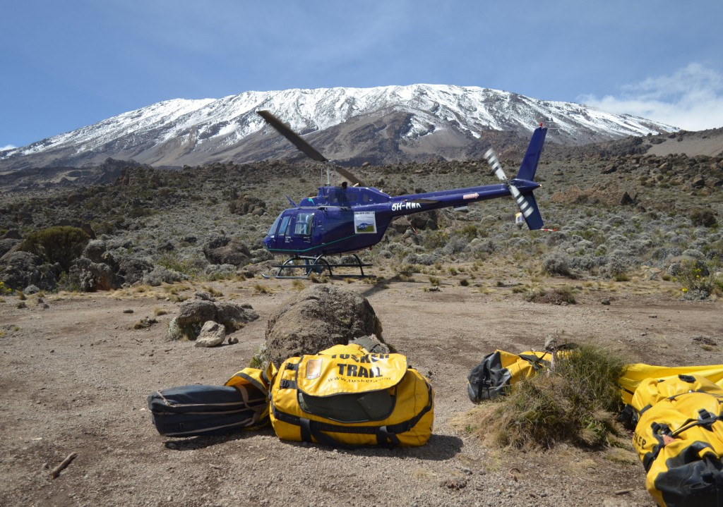 Tusker Trail Evacutaion off Kilimanjaro