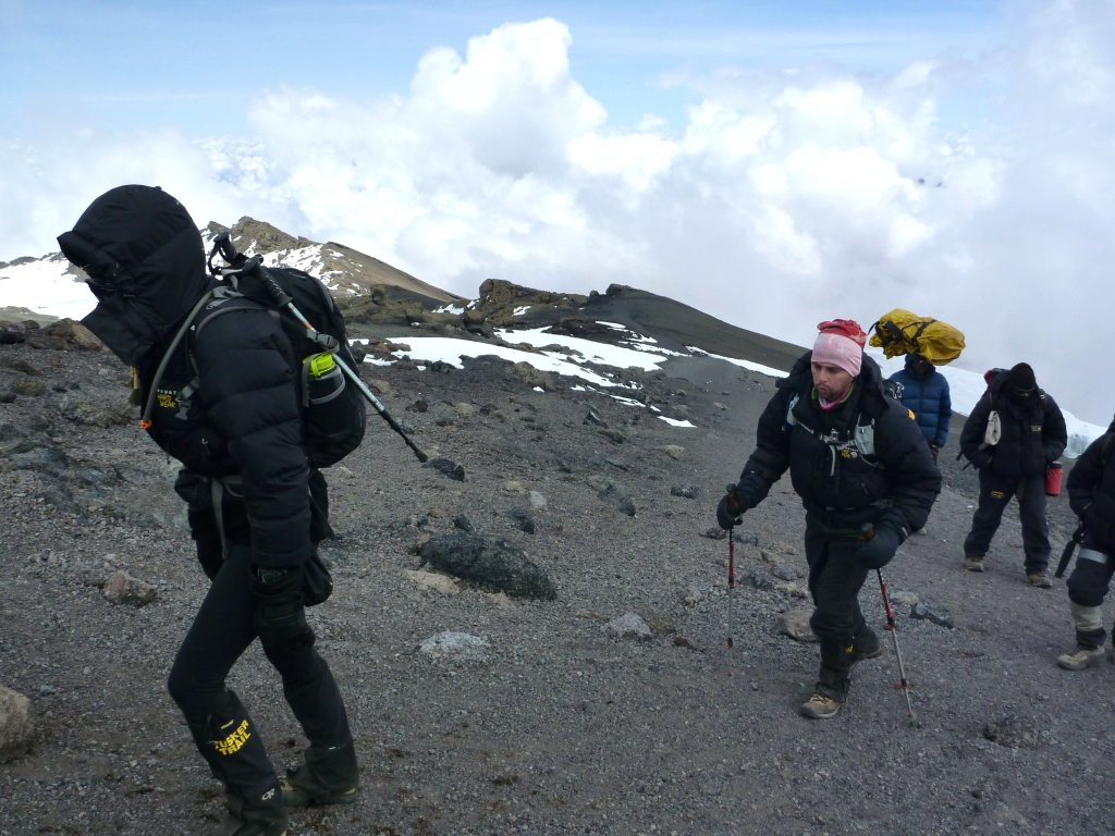 Summit day on Kilimanjaro
