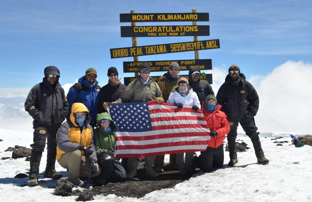 Kilimanjaro Climb for Valor
