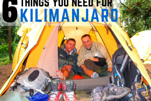 6 Things You Must Bring With You to Climb Kilimanjaro