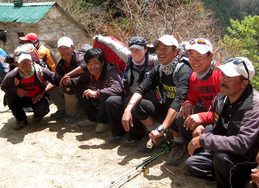 Tusker Trail Nepali Crew