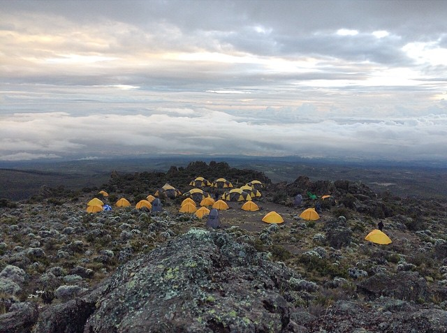 Tusker Camp on Kilimanjaro - By Troy Paff