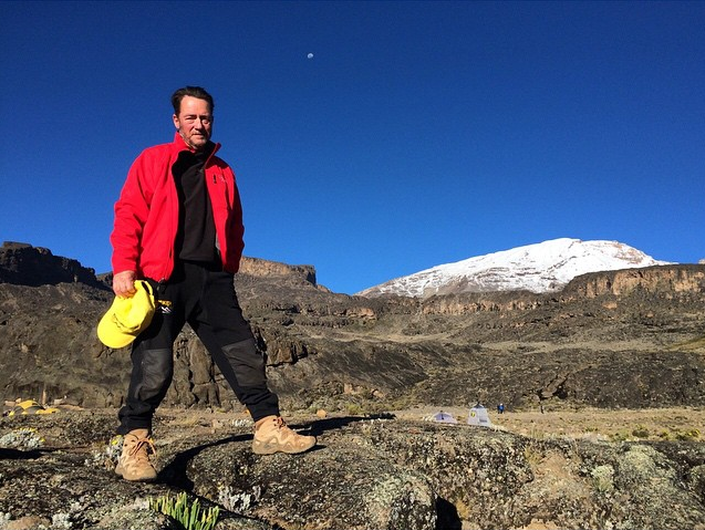 Tusker Trail founder Eddie Frank on Kilimanjaro