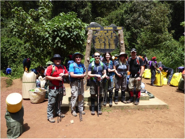 Tusker Kilimanjaro Climbers