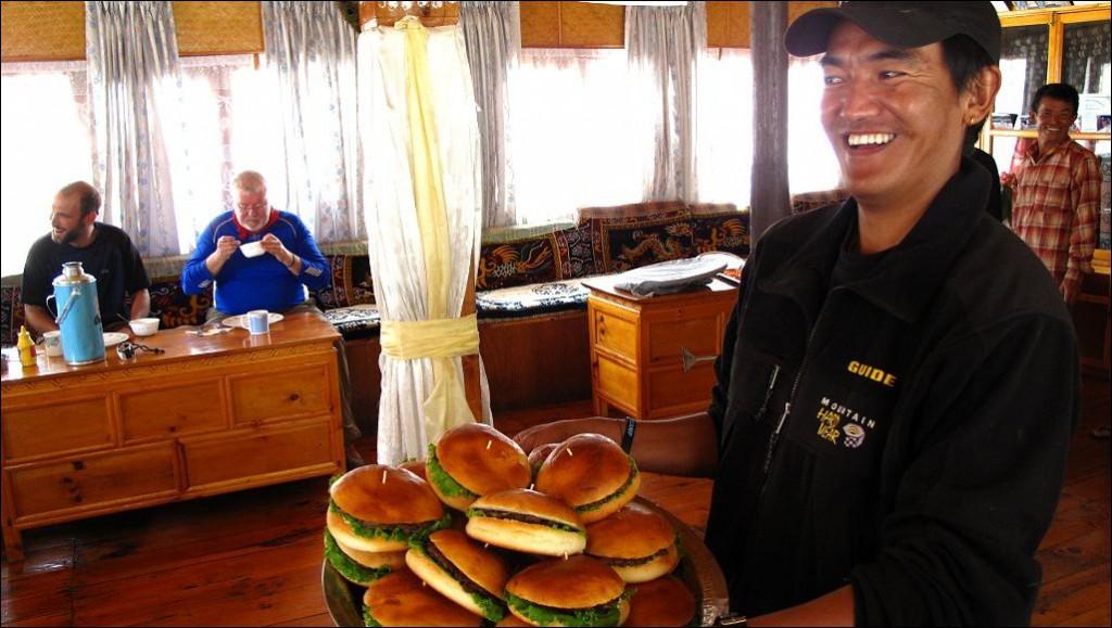 Tusker Everest Base Camp Food