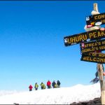 KILIMANJARO: IT'S ABOUT THE SUMMIT