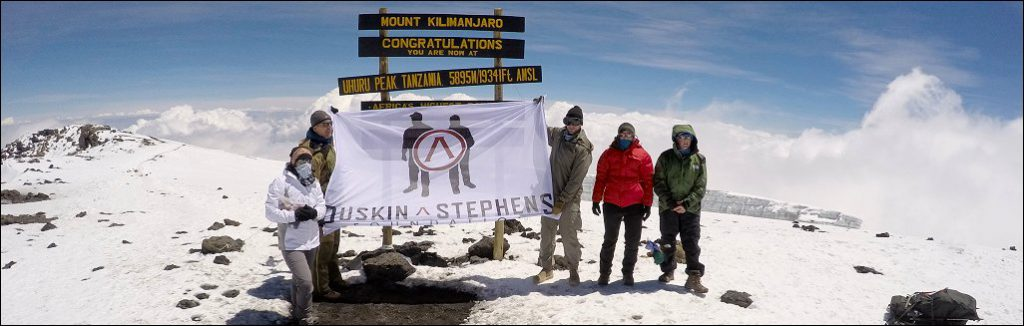 Tusker Kilimanjaro Climb for Valor