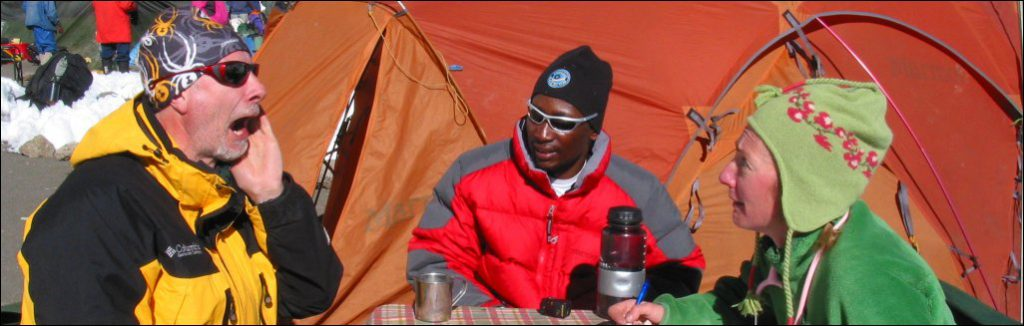 Aging and Altitude on Kilimanjaro
