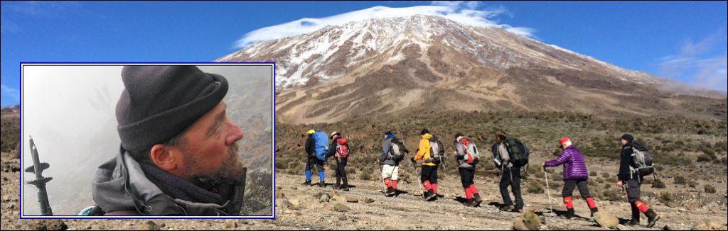 Kilimanjaro climbing seventh route