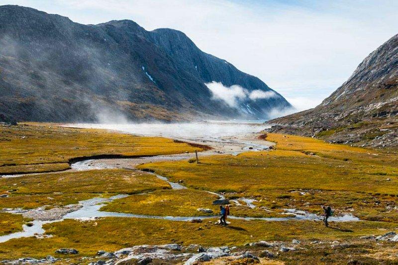 trekking greenland